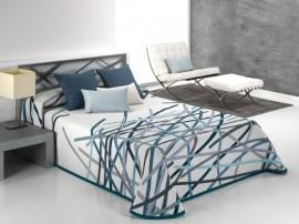 Cuvertura de pat BASTIAN blue, dimensiune 190 cm x 270 cm