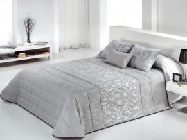 Cuvertura de pat GAREN gri, dimensiune 250 cm x 270 cm