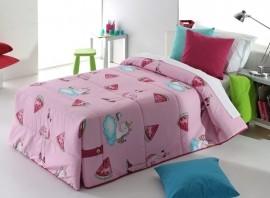Cuvertura de pat PINK 02 roz, dimensiune 205 cm x 270 cm