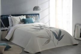 Cuvertura de pat SPECTER gri albastrui, dimensiune 280 cm x 270 cm