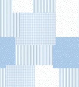 Draperie COCESE albastru