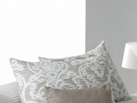 Perna decorativa CHAINA bej, dimensiune 50 cm x 70 cm