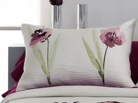 Perna decorativa OKARA roz, dimensiune 50 cm x 70 cm