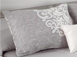 Perna decorativa PRESLEY gri, dimensiune 50 cm x 70 cm
