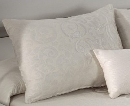 Perna decorativa PRESLEY natural, dimensiune 50 cm x 70 cm
